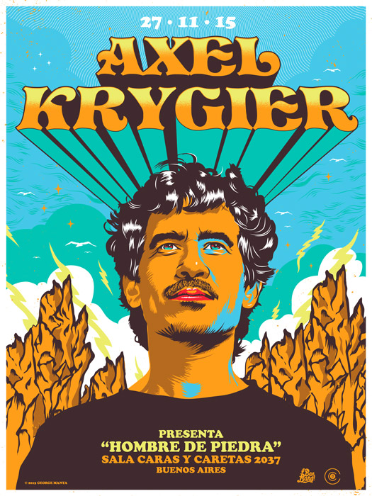 Axel-Hombre-de-Piedra-(poster)-George-Manta